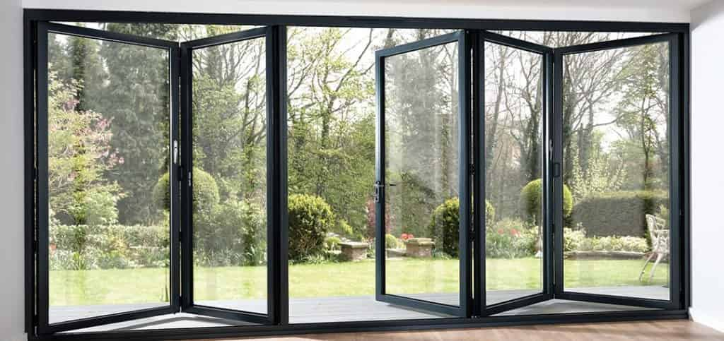 aluminium bi-fold doors whitstable